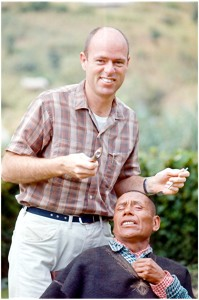 image of Ken Williams pulling tooth as missionary