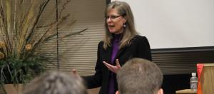 image of Gaylyn R. Williams teaching