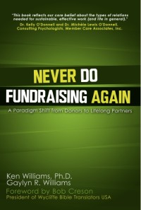 image of book titled Never Do Fundraising Again