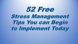 52 stress tips