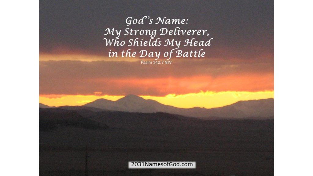 My Strong Deliverer, Who Shields My Head in the Day of Battle